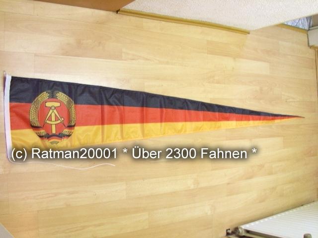 DDR Wimpel Langwimpel - 38 x 240 cm