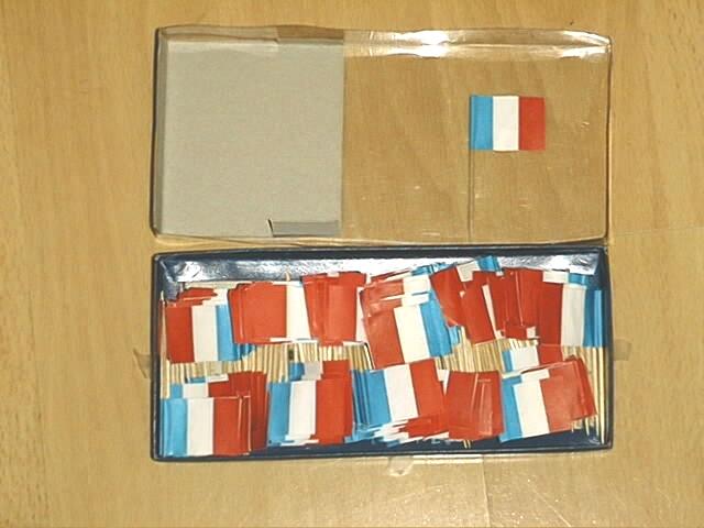 Deko Picker Frankreich 250 Stück