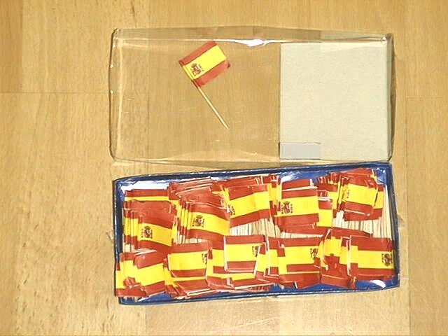 Deko Picker Spanien 250 Stück