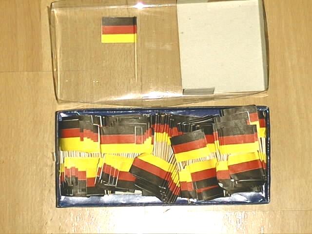 Deko Picker Deutschland 250 Stück