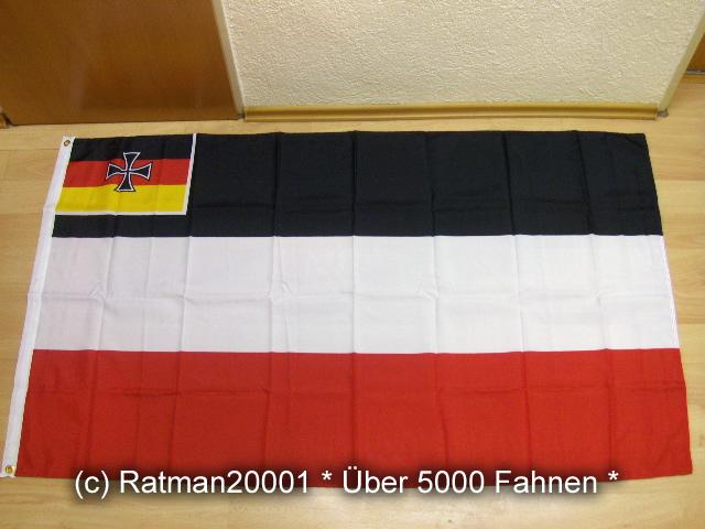 Deutsches Reich Handelsflagge 310 - 90 x 150 cm