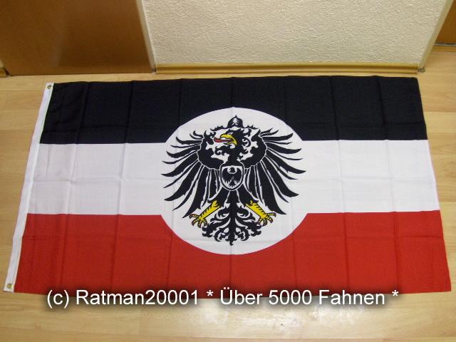 Deutsches Reich Dienstflagge Kolonialamts 218 - 90 x 150 cm