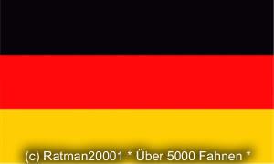 Deutschland Supergroß - 300 x 500 cm