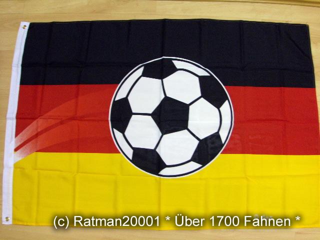 Deutschland Ball Fußball - 90 x 150 cm