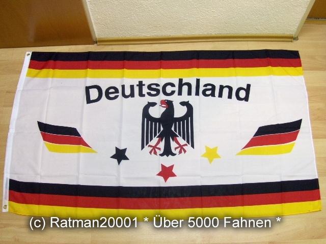 Deutschland Stern Fan - 90 x 150 cm