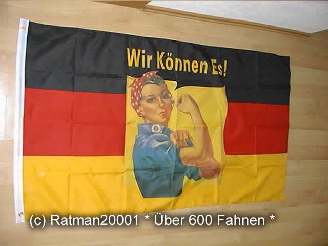 Deutschland Wir Können Es - 90 x 150 cm