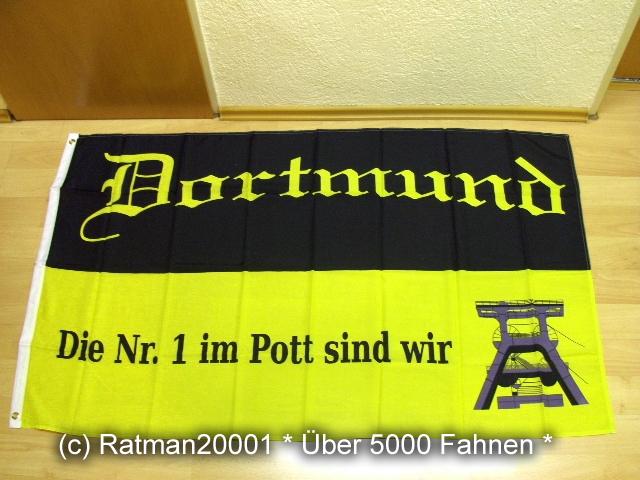 Dortmund Die NR.1 im Pott sind wir Fan - 90 x 150 cm