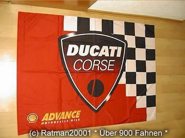 Ducati Corse F012 - 95 x 135 cm