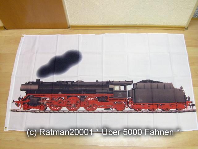 Eisenbahn Weiß - 2 - 90 x 150 cm