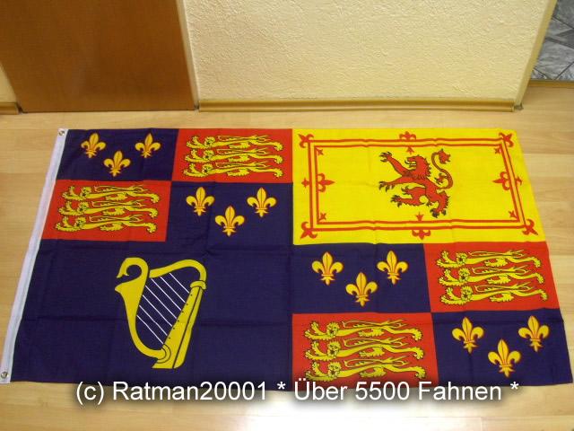 England Royal 1603-1649-1707-1707 - 90 x 150 cm