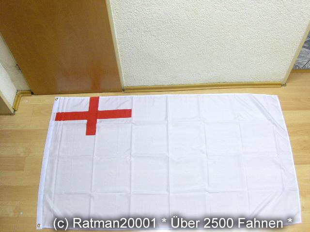 England Royal Navy Weiß 1620 - 90 x 150 cm