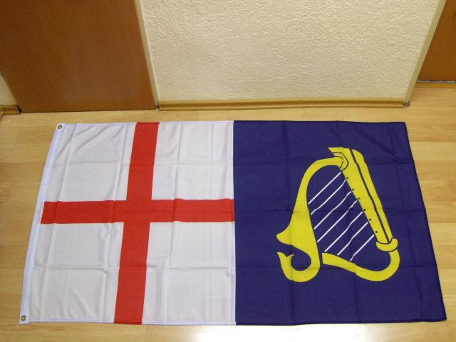 England und Irland 1649-1658 - 90 x 150 cm