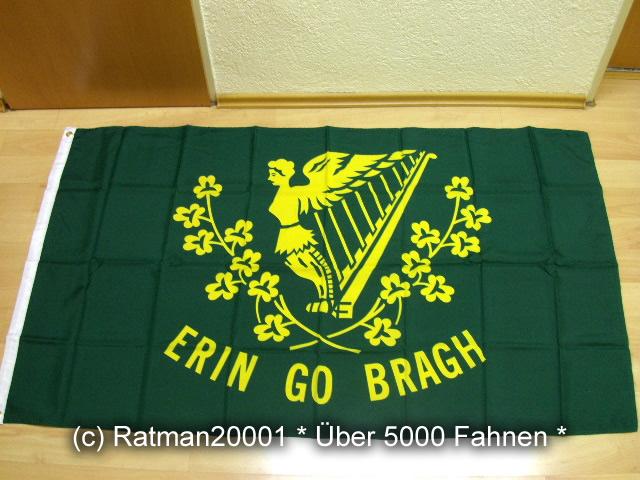 Irland Erin Go Bragh - 90 x 150 cm