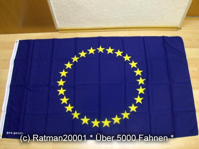 Europa 25 Sterne - 90 x 150 cm