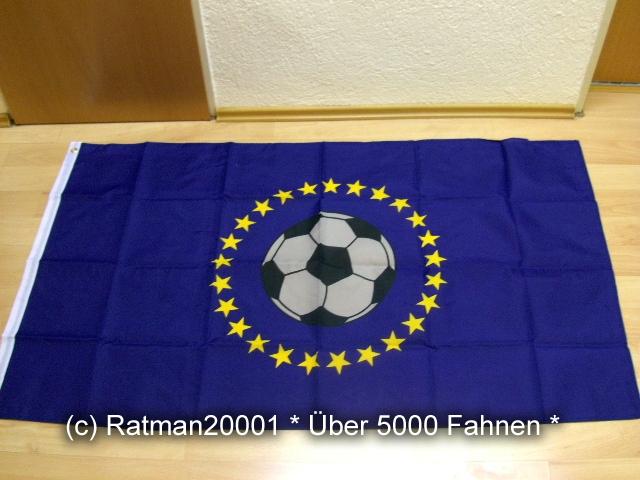 Europa Fussball - 90 x 150 cm