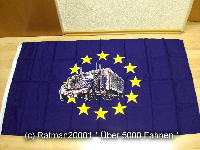 Europa Truck - 90 x 150 cm