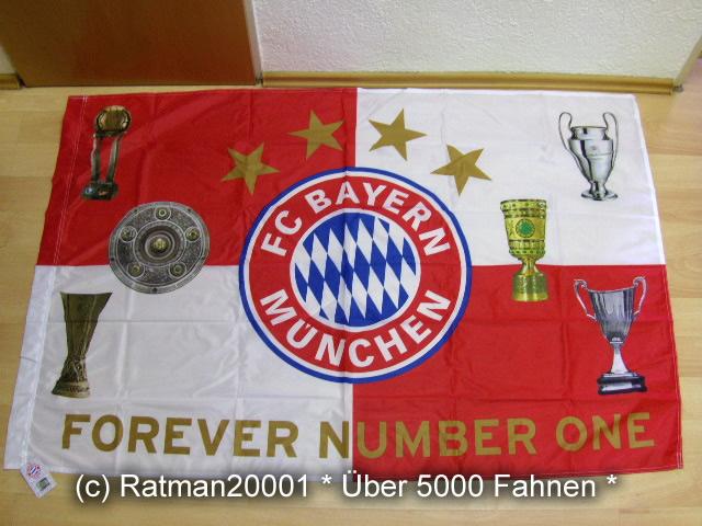 F.C. Bayern München Pokale - 100 x 150