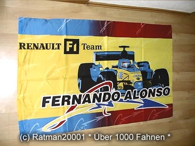 Fernando Alonso F 008 - 97 x 130