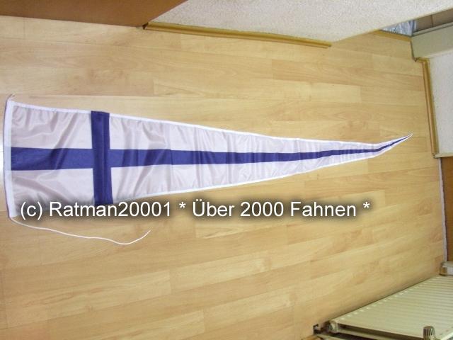 Finnland Wimpel Langwimpel - 38 x 240 cm