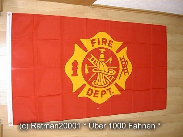 Feuerwehr Department - 90 x 150 cm