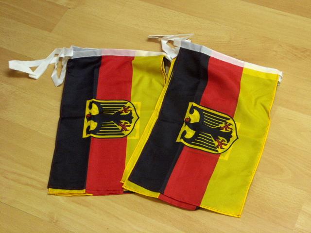 Flaggenkette Deutschland Adler 6 Meter