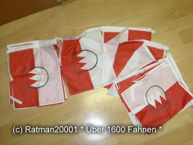 Flaggenkette Franken 30 Fahnen 12 Meter Lang