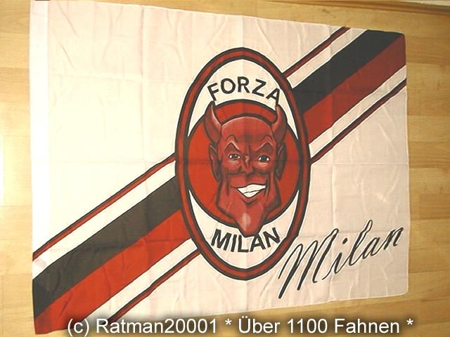 Forza Milan - 97 x 130 cm
