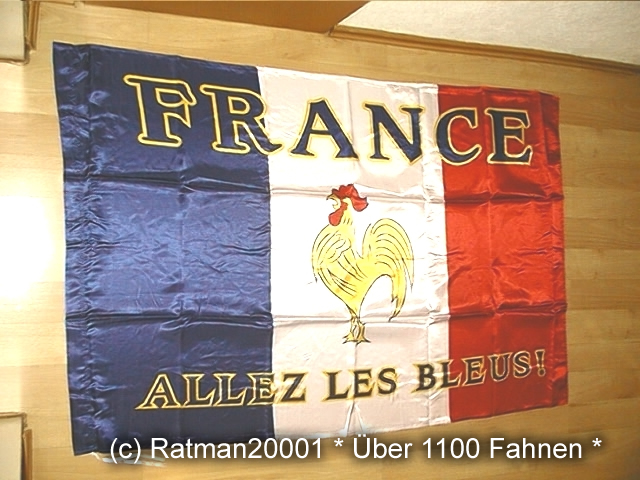 France Bleus - 95 x 150 cm