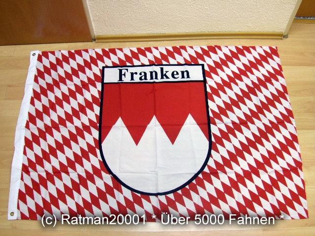 Franken Rot - 95 x 135 cm