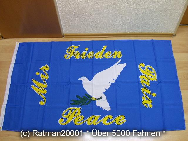 Friedenstaube Peace - 90 x 150 cm