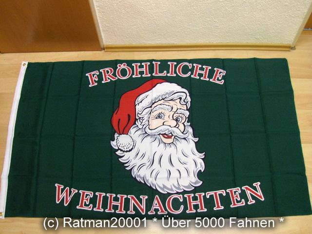 Fröhliche Weihnachten - 90 x 150 cm