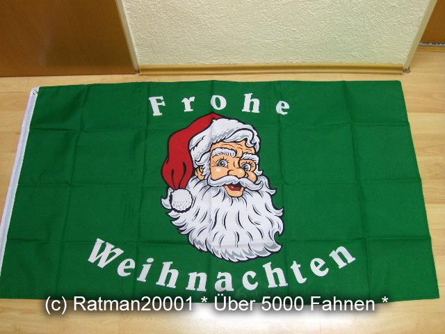 Frohe Weihnachten Quer - 90 x 150 cm