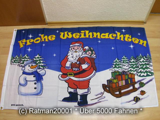 Frohe Weihnachten Neu - 90 x 150 cm