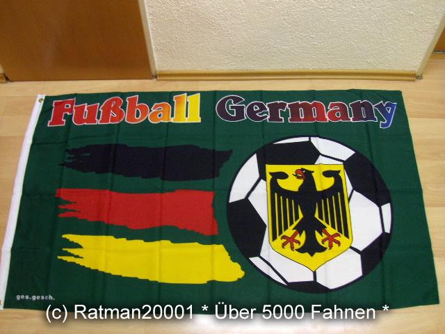 Fussball Deutschland Germany - 90 x 150 cm
