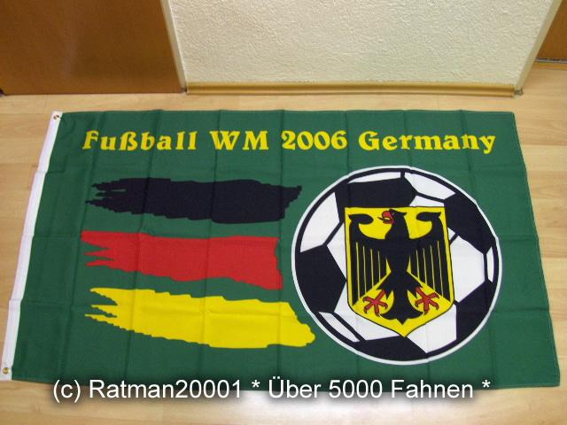 Fussball WM 2006 - 90 x 150 cm