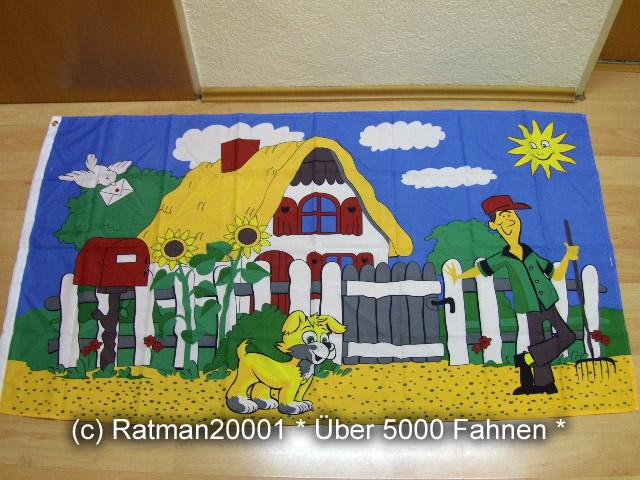 Gartenfahne Gärtner - 90 x 150 cm