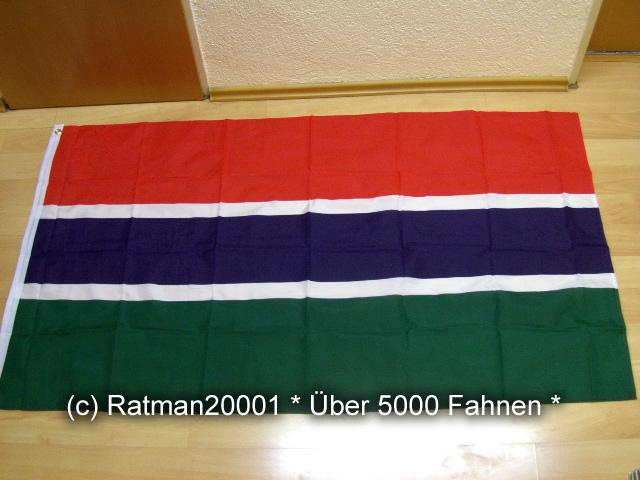 Gambia Neu - 90 x 150 cm