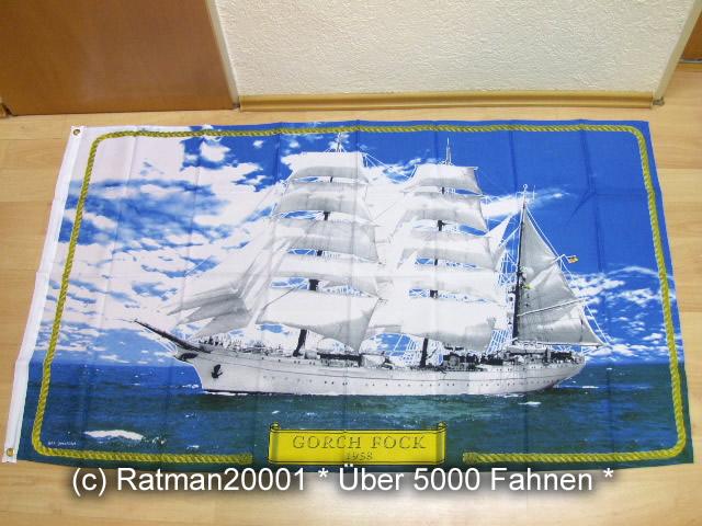 Gorch Fock - 90 x 150 cm