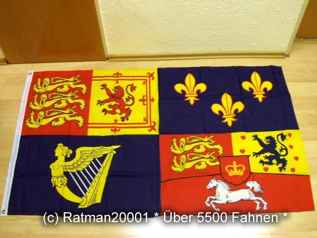 Fahnen Flagge Großbritannien 1714 - 1801 - House of Hannover - 90 x 150 cm