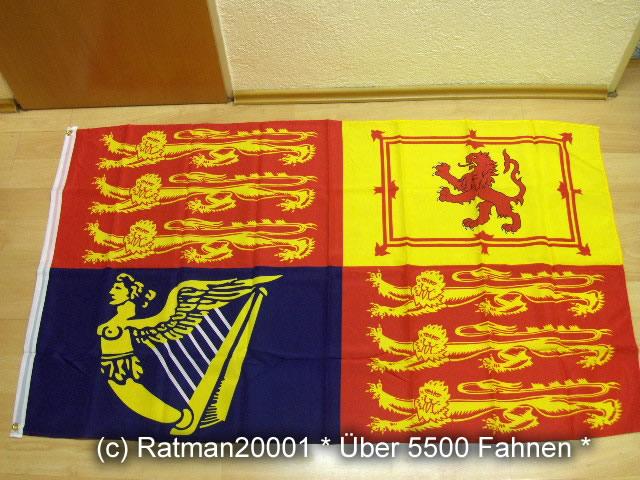Großbritannien Flagge der Königin - 90 x 150 cm