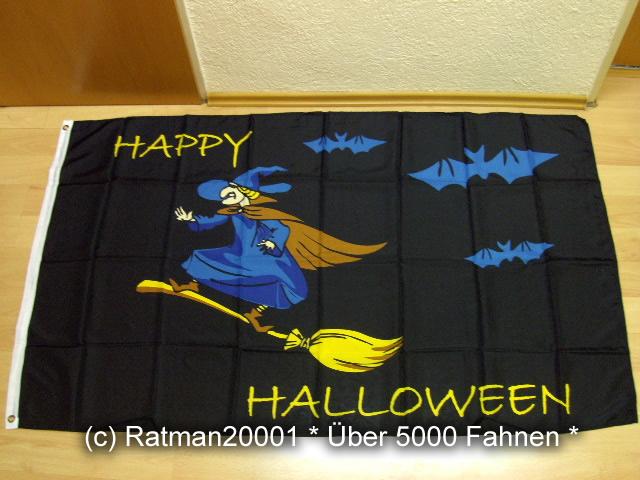 Halloween Hexe - 90 x 150 cm