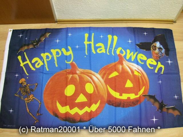 Halloween Kürbis - 90 x 150 cm