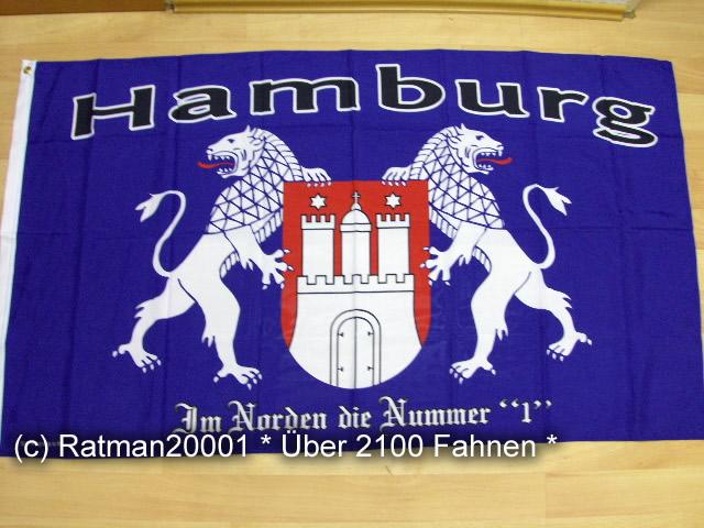 Hamburg Die Nr.1 im Norden  - 90 x 150 cm