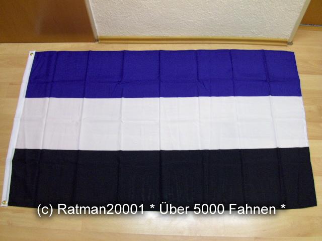 Hamburg drei Farben  Fan - 90 x 150 cm