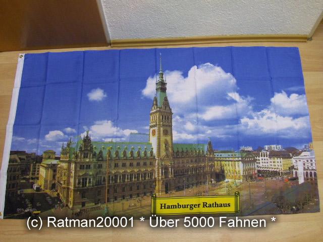 Hamburg Rathaus - 90 x 150 cm