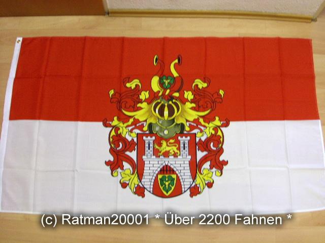 Hannover großes Wappen - 90 x 150 cm