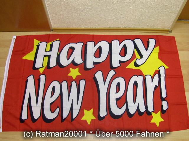 Happy New Year - 90 x 150 cm