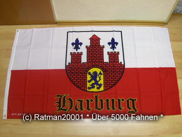 Hamburg Harburg Wilhelmsburg - 90 x 150 cm