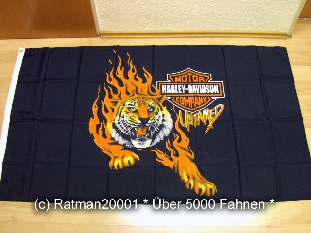 Harley Davidion Tiger - 90 x 150 cm
