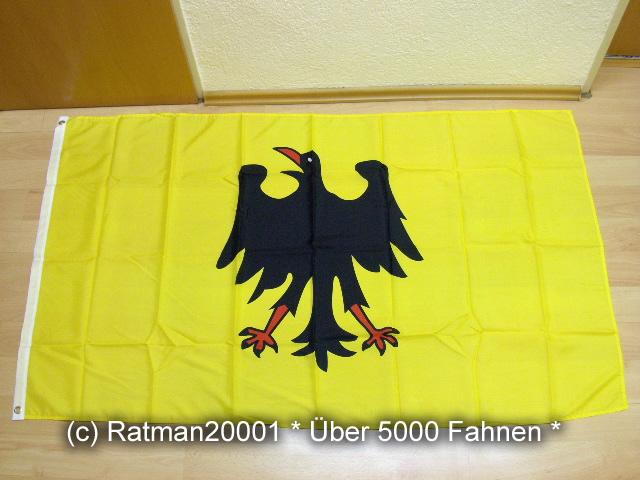 Heiliges Römisches Reich Deutscher Nation bis 1401 - 90 x 150 cm